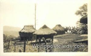 Philippines, Pilipinas Mountain Province, Native Huts Philippine Islands Moun...