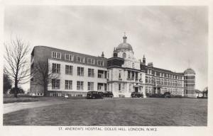 St Andrews Hospital Dollis Hill London Postcard