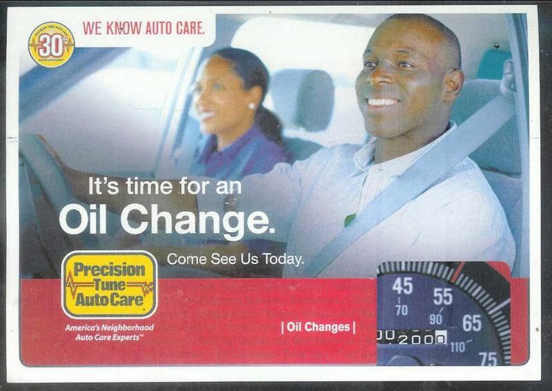 South Carolina, Oil Change Advertisement, used