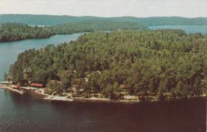 Scenic view,  Camp Chimo,  Lake Temagami,  Ontario,  Canada,  40-60s