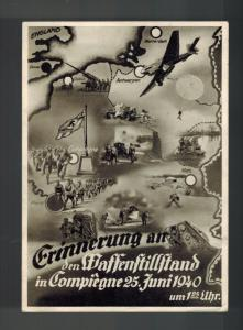 Mint 1940 Germany Real Picture Postcard RPPC Conquest Victory over France