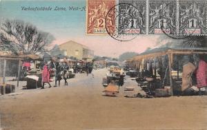 Gabon Verkaufsstaende Lome, West Africa, Commerce, Market 1907