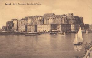 naples , Italy , 00-10s ; Borgo Marinaro e Castello dell'Uovo