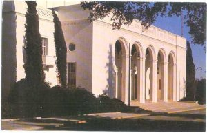 Mabel Shaw Bridges Auditorium, Claremont Colleges, Claremont, California, Chrome