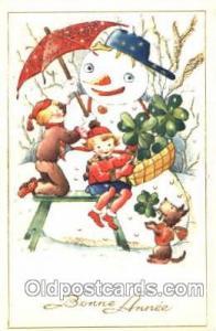 Snowman, Postcard Postcards