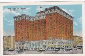 Iowa Des Moines Hotel Des Moines 1924