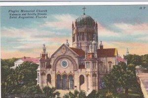 Florida Saint Augustine Flagler Memorial Church Valencia And Sevilla Street A...