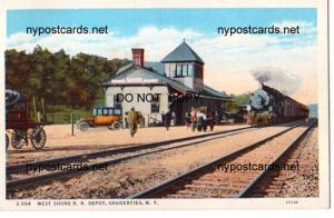 West Shore RR Depot, Saugerties NY