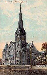 Central Union Church, Honolulu, Hawaii Territory, early postcard, unused