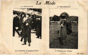 CPA AK PARIS La Mode La Jupe-culotte et la robe-entravée (218778)
