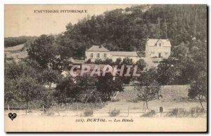Puy de Dome - Durtol - The Hotels - - Old Postcard