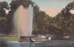 Pennsylvania Roaring Spring Bare Memorial Fountain Albertype