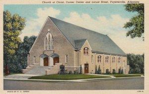 FAYETTEVILLE , Arkansas , 1910s ; Church of Christ