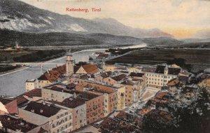 RATTENBERG TIROL AUSTRIA~PANORAMA 1910 TINTED PHOTO  POSTCARD