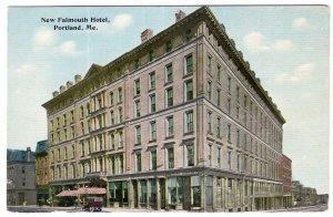 Portland, Me, New Falmouth Hotel