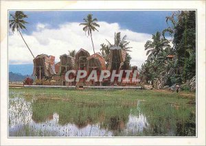 Postcard Modern Indonesia famous