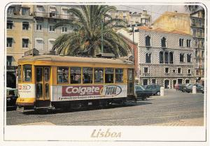 Portugal Toothpaste Colgate Bus Advertising Postcard