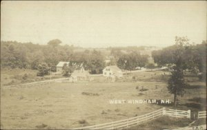 West Windham NH 1906 Used Real Photo Postcard