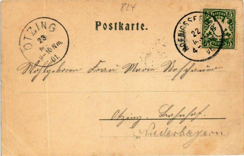 CPA AK Konigssee GERMANY (877066)