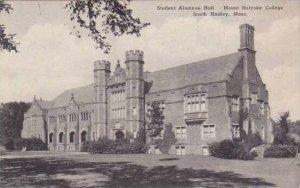 Massachusetts South Hadley Student Alumnae Hall Mount Holyorke College Albertype