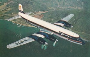 DELTA DC-7 Airplane , 50-60s