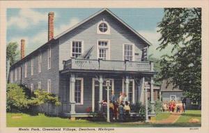 Michigan Dearborn Menlo Park Greenfield Village