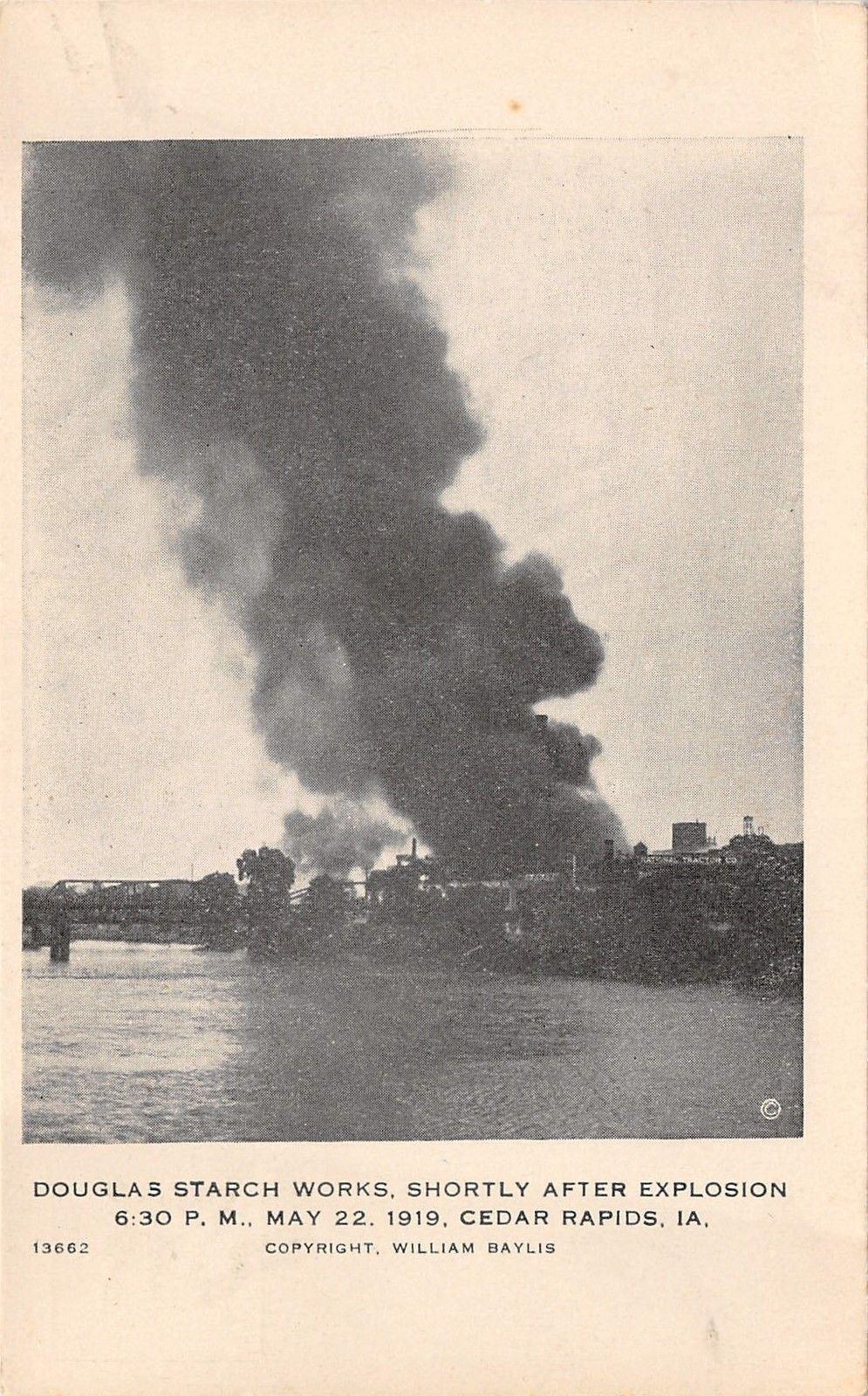 Cedar Rapids Iowa~Douglas Starch Works~After Explosion~1919 Wm