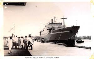 Guayaquil Ecuador, Republica del Ecuador Puerto Maritimo y Fluvial Ecuador Gu...