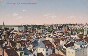 Germany Altenburg vom Nicolaiturm gesehen