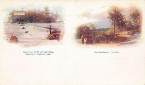 LPA51 Hot Springs  Arkansas Postcard Ouachita River