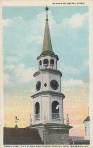 FREDERICK , Maryland , 1910s ; Reformed Church Spire