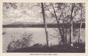 Connecticut Twin Lakes West Shore Of Twin Lakes Albertype