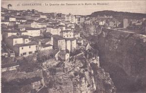 Le Quartier Des Tanneurs Et Le Ravin Du Rhumme, CONSTANTINE, Algeria, Africa,...