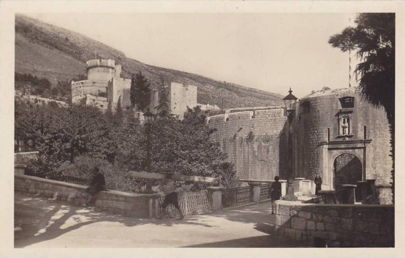 RP, Partial View, Dubrovnik, Ragusa, Croatia, 1920-1940s