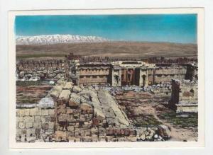 RP, Baalbek-Steps Of Jupiter Temple & The Exedra, Lebanon, 1930-50s