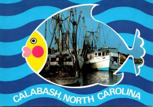North Carolina Calabash Seafood Capitol Of The World Fishing Boats