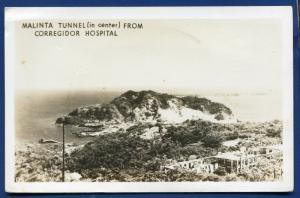 Malinta Tunnel Corregidor Hospital Philippine islands Real Photo Postcard RPPC
