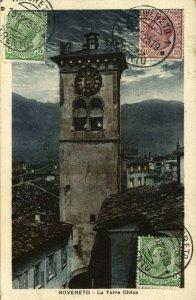 italy, ROVERETO, Il Castello, Museo Storico della Guerra (1925) Postcard