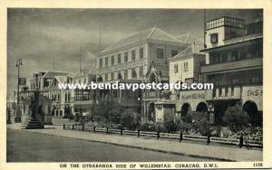 curacao, D.W.I., WILLEMSTAD, Otrabanda, Hotel Americano (1940s) Mathews 1132