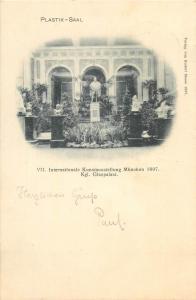 Plastik-Saal Internationale Kunstausstellung Munchen 1897 Kgl. Glaspalast
