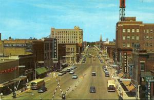 North Dakota Fargo Broadway Looking North