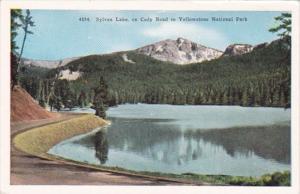 Yellowstone National Park Sylvan Lake On Cody Road