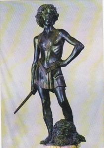 Italy Firenze David Verrocchio Museo Nazionale