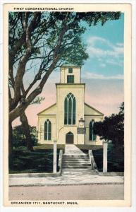2779  MA  Nantucket    First Congregational Church