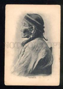 039275 Russia NORTH BAIKAL Orochen old woman Vintage