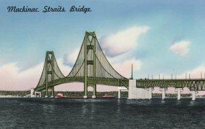10745 Mackinac Straits Bridge, Michigan 1958