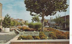 Colorful flower beds, Shopping Park, Grand Junction, Colorado, PU-40-60s