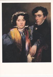 John Gibson Lockhart with wife Charlotte Sophia Scott by Robert Scott Lauder ...