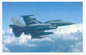 Jet Airplane, F-16D Fighting Falcon fighter, 70-80s #2