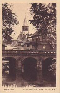 Alte Brucke Uber Die Moder, Hagenau, Alsace, France,10-20s